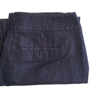 Apt. 9 Gray Pants with Hook & Button Closure | 4